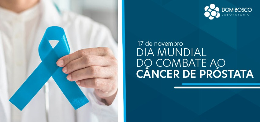 capa Novembro azul laboratório dom Bosco